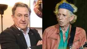 Hermann Tertsch y Keith Richards: viejos rockeros nunca mueren.