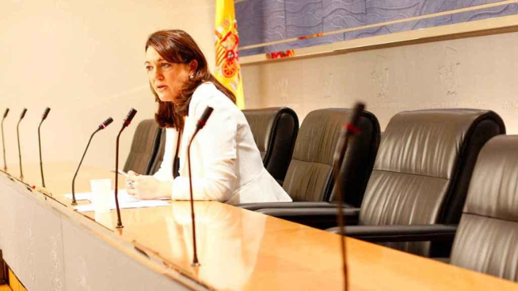 Soraya Rodríguez, en el Congreso en una imagen de archivo.