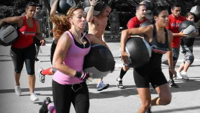 Una sesión de crossfit. CrossFit Fever Games/Flickr.