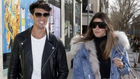 Daniel Illescas y Laura Matamoros por la Milla de Oro de Madrid.