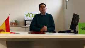 El presidente de Vox en Lleida, Antonio Ortiz. / Facebook