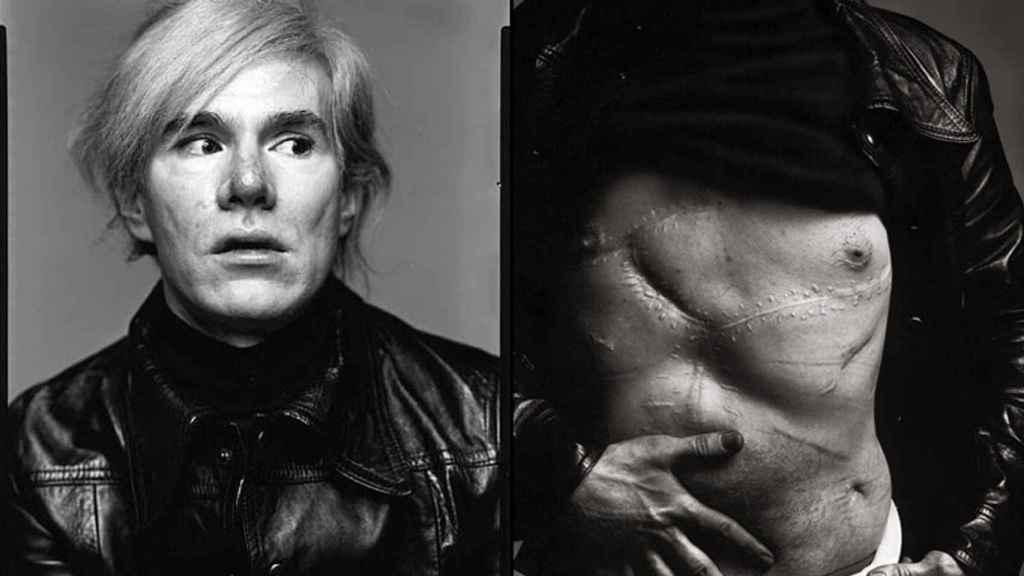 Las secuelas de Andy Warhol fotografiadas por Richard Avedon.