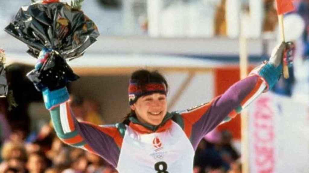Blanca Fernández Ochoa, esquiadora