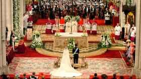 Enlace entre Felipe VI y Letizia Ortíz Rocasolano, en mayo de 2004.