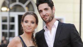 Ana Fernández y Santi Trancho, en una foto antigua.