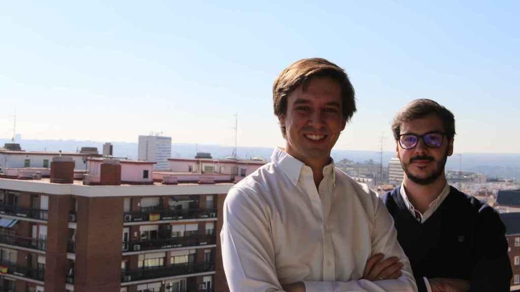 Jorge Montero y Javier Martí, creadores de Homming.