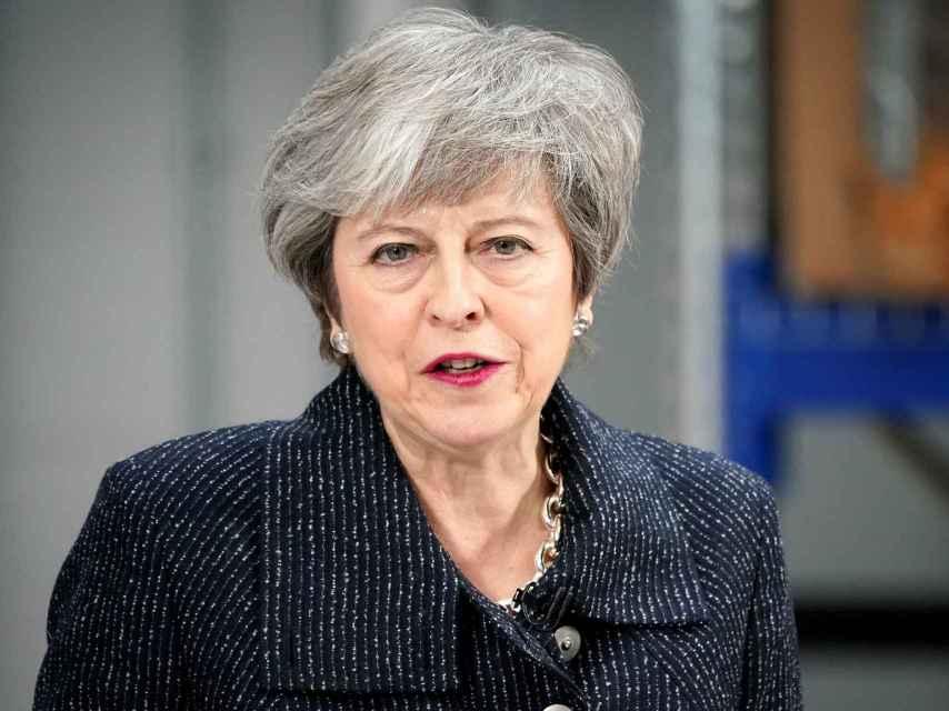 May pide a la UE más concesiones sobre la frontera irlandesa