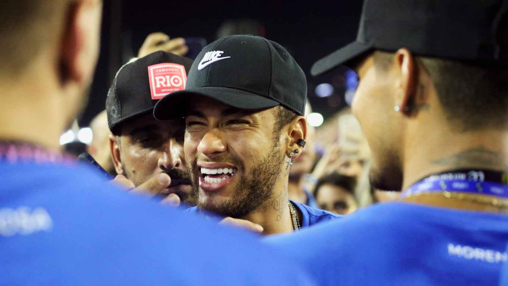 Neymar, en los carnavales