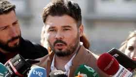 El portavoz y diputado de ERC en el Congreso de los Diputados ,Gabriel Rufián.