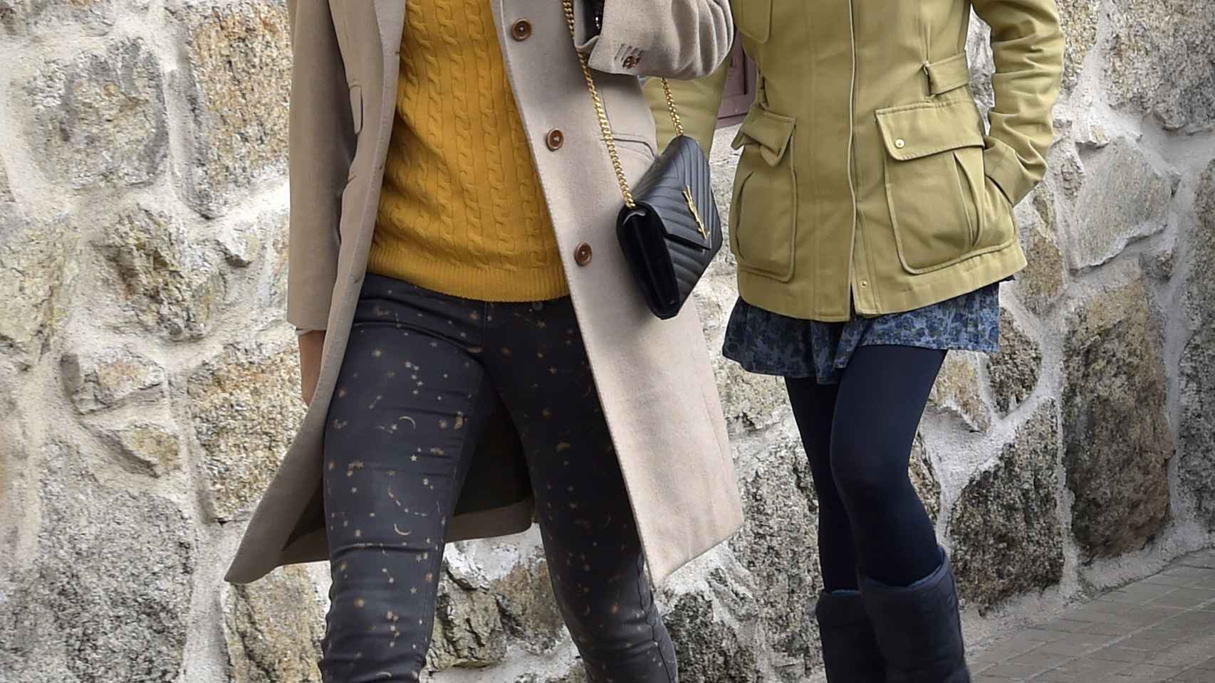 Lucía Pariente junto a Alba Carrillo en una imagen de archivo.