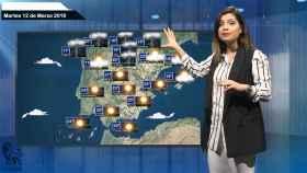 Fotograma del vídeo de la predicción del tiempo.