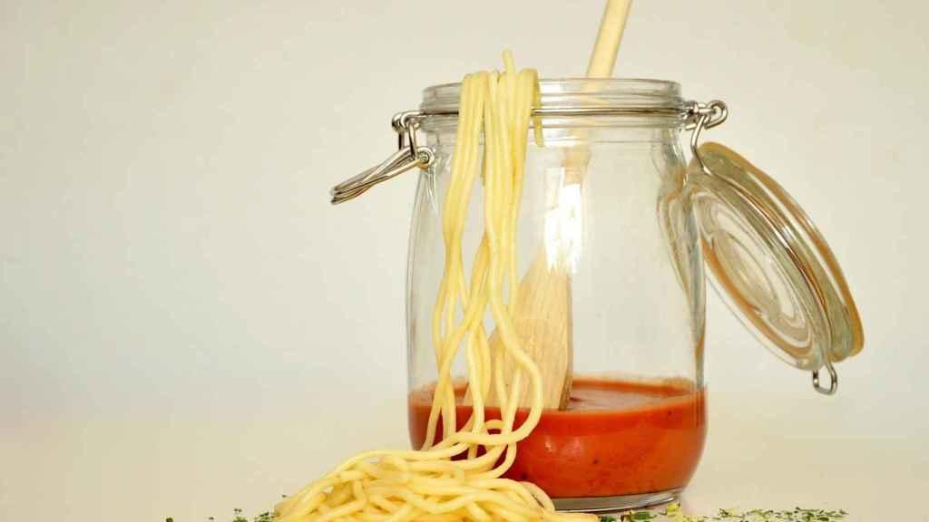 Salsa de tomate envasada