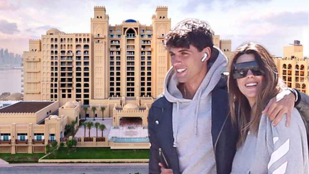 Laura Matamoros y Daniel Illescas se alojan en un auténtico 'castillo' de 5 estrellas.