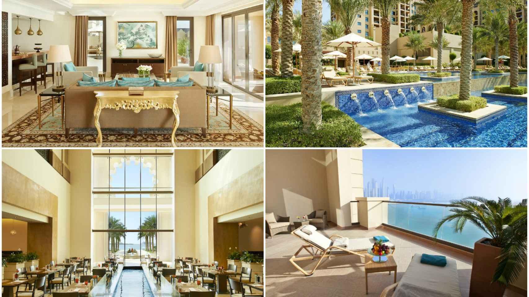Es el hotel de mayor lujo de Dubai.