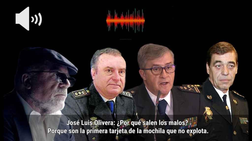 Villarejo, Olivera, Eloy Quirós y Juan Antonio González.