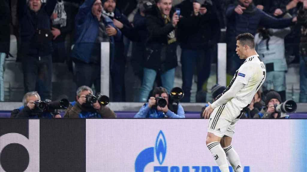 Cristiano Ronaldo emula al 'Cholo' Simeone tras la victoria de la Juve