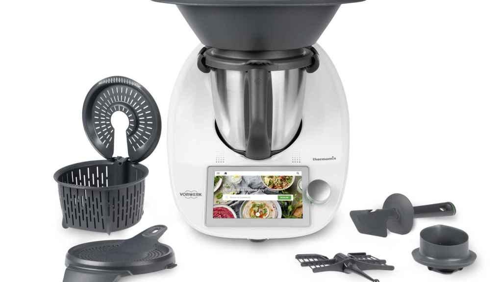 Imagen del Thermomix TM6, la nueva versión del robot de cocina más famoso