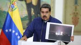 Maduro, dirigiéndose al país