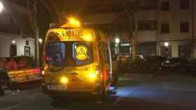 Ambulancia de Emergencias en el lugar de los hechos. Foto: Emergencias Madrid