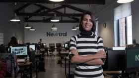 Ana Pastor presentando Newtral.