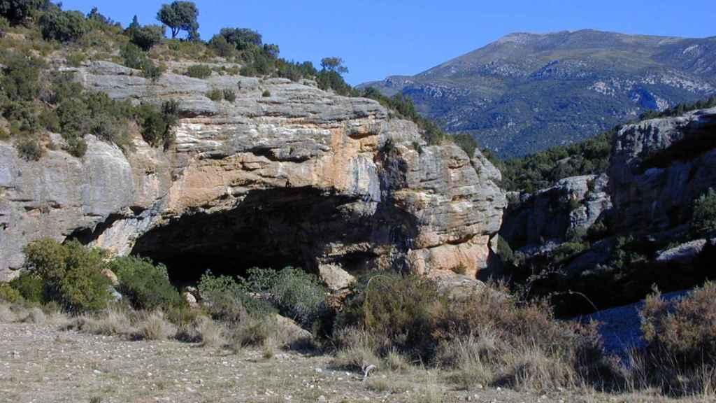 El yacimiento neolítico de Cueva de Chaves, Huesca.