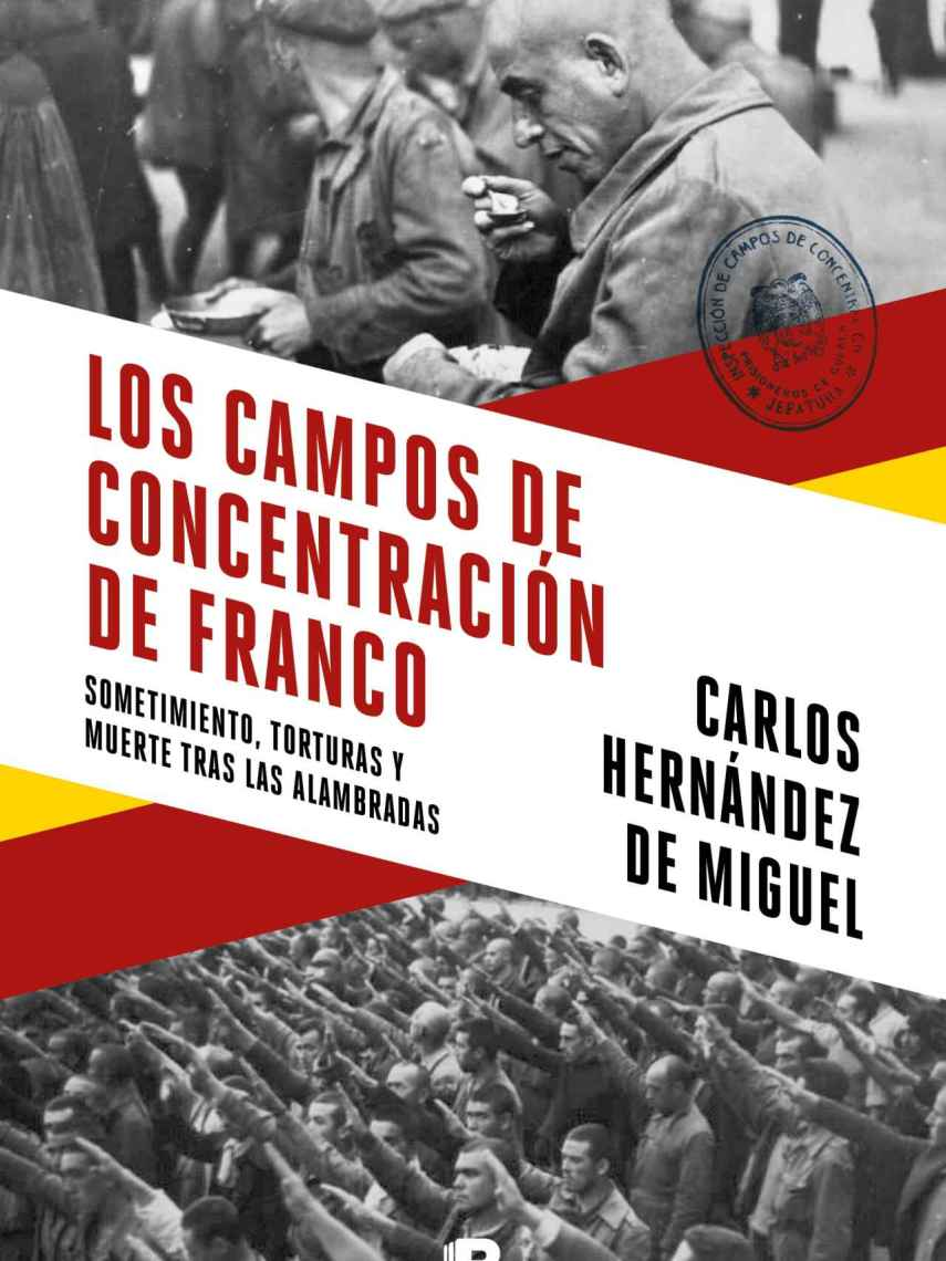 Portada de 'Los campos de concentración de Franco'.