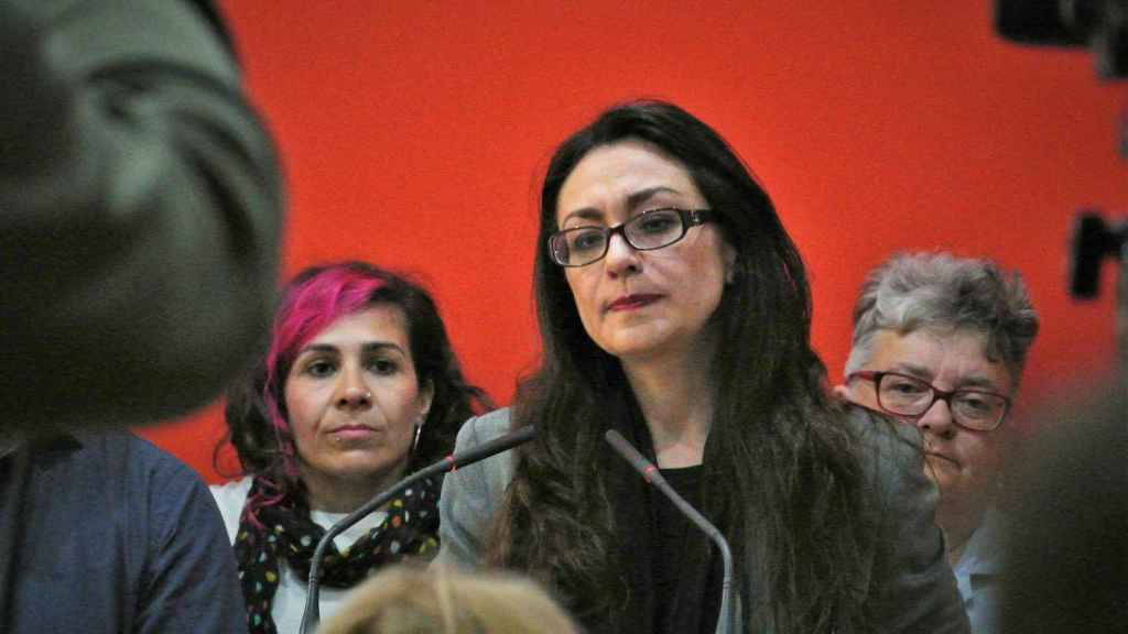 Sol Sánchez, candidata de IU a la Comunidad de Madrid.
