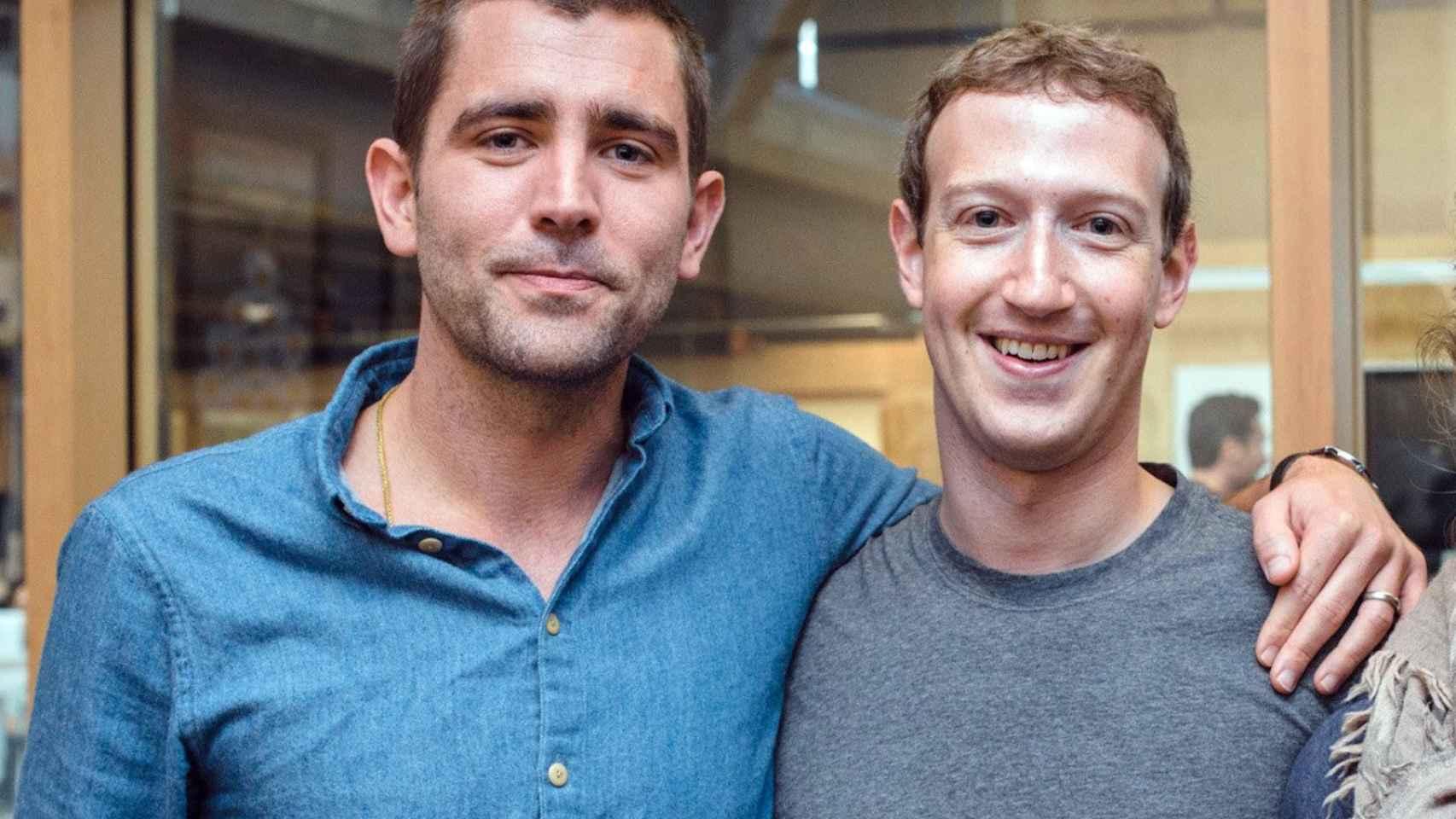 Mark Zuckerberg y Chris Cox.