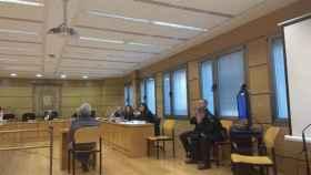 Manolo ánez, acusado de matar a su hijastra y a su pareja, ante el juez. Foto: Europa Press