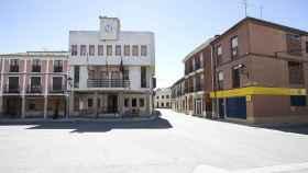 Plaza del municipio de Villarramiel