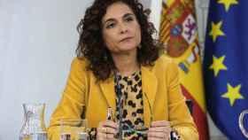 María Jesús Montero, ministra de Hacienda en funciones.