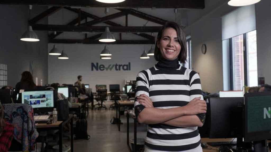 Ana Pastor, en la sede de Newtral.