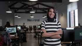 Ana Pastor, en la sede de Newtral, la productora de la que es fundadora.