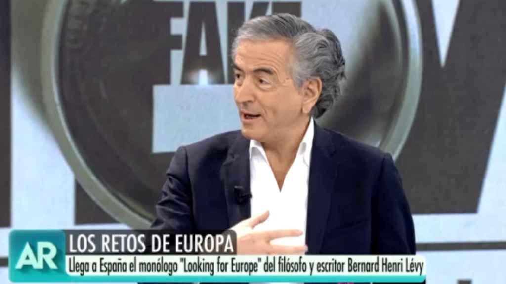 Bernard-Herni Lévy en 'El programa de Ana Rosa'.