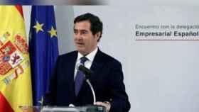 El presidente de la CEOE, Antonio Garamendi, en una imagen de archivo.
