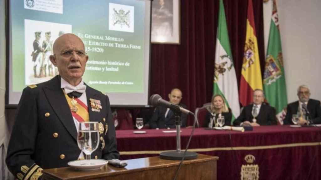 Agustín Rosety Fernández de Castro, el fichaje de Vox para Cádiz.