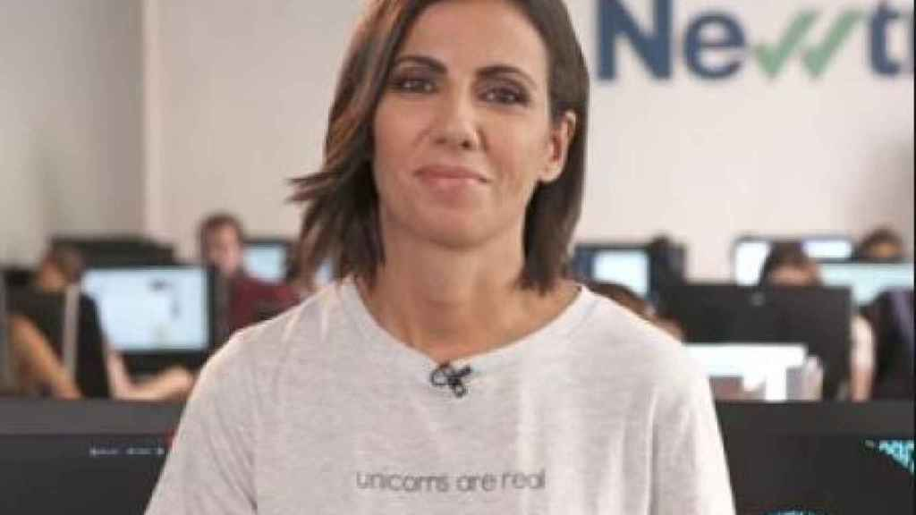 La periodista Ana Pastor, en la redacción de Newtral, el nuevo medio que ha lanzado este año.