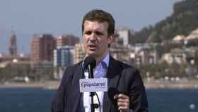 Pablo casado, presidente del PP, en Málaga.