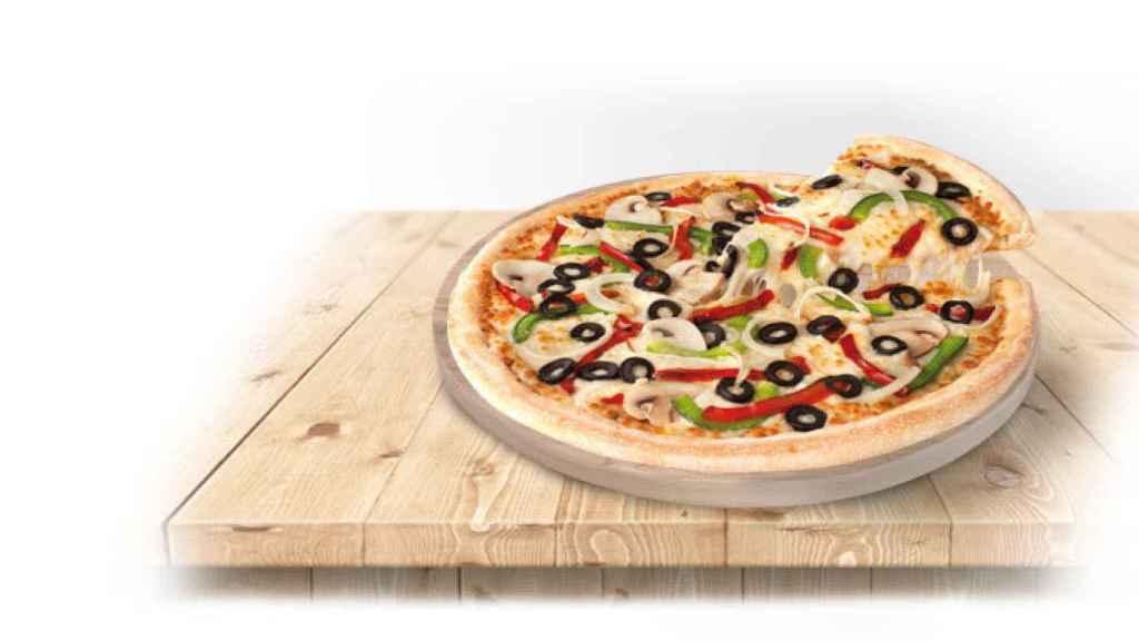Pizza De la Huerta de Telepizza