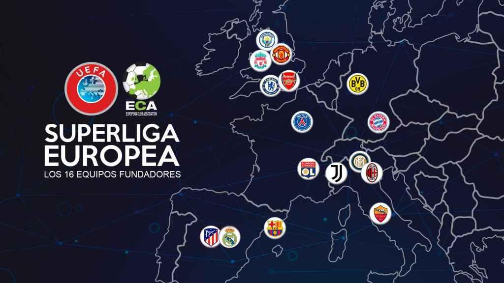 De la Champions a la Superliga: los 16 equipos y el nuevo formato para 2024