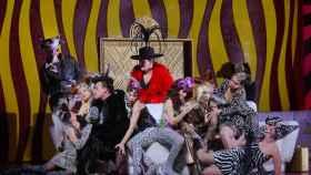 La lujuria y el desenfreno de la Calisto, en una imagen el día de su estreno en el Real.