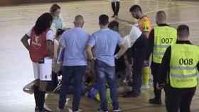 Fallece un jugador de fútbol sala en pleno partido
