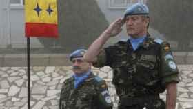 El general Asarta, en Líbano.
