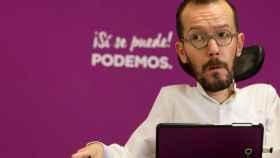 Pablo Echenique, diputado de Podemos.