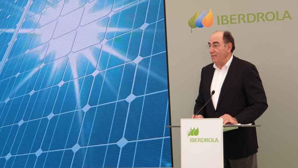 José Ignacio Sánchez Galán, presidente de Iberdrola.