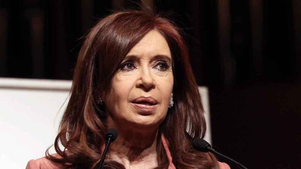 Cristina Kirchner, expresidenta de Argentina.