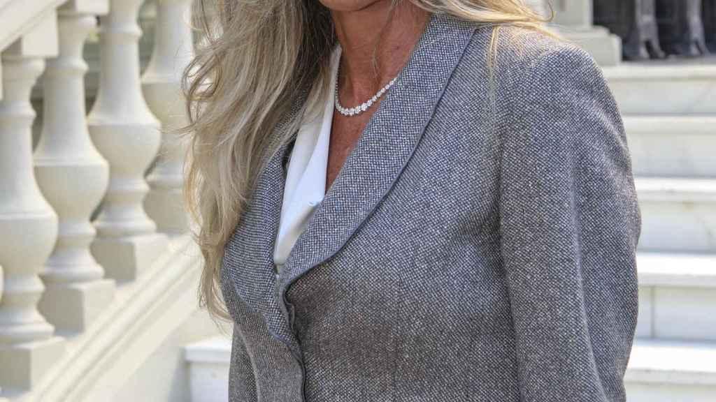 Raquel Bernal, durante la cuarta edición de los premios 'Corazón solidario'.