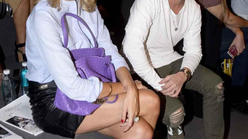 Alba Carrillo y Fonsi Nieto en imagen de archivo.