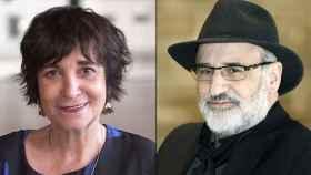 Rosa Montero y Fernando Aramburu