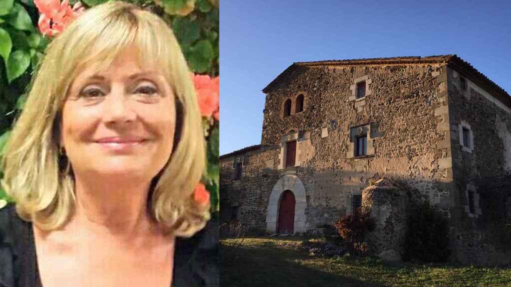 Conxita Feliu Lajusticia nació y creció en Can Sendra, la masía de la que la iban a desahuciar